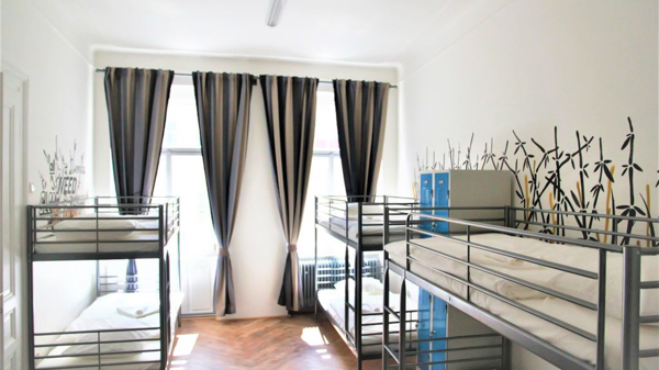 best hostels in Prague The Republic Garden