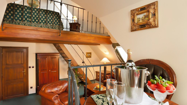 hotels near the Charles Bridge U Zlateho Stromu