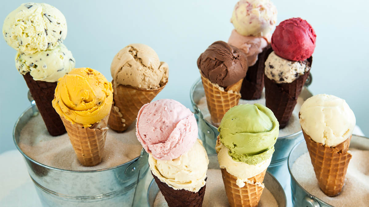 best ice cream in Prague where to try