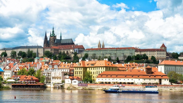 boat cruise in Prague Excursions on Vltava River