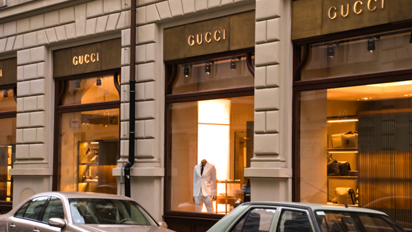 where to find luxury shopping in Prague