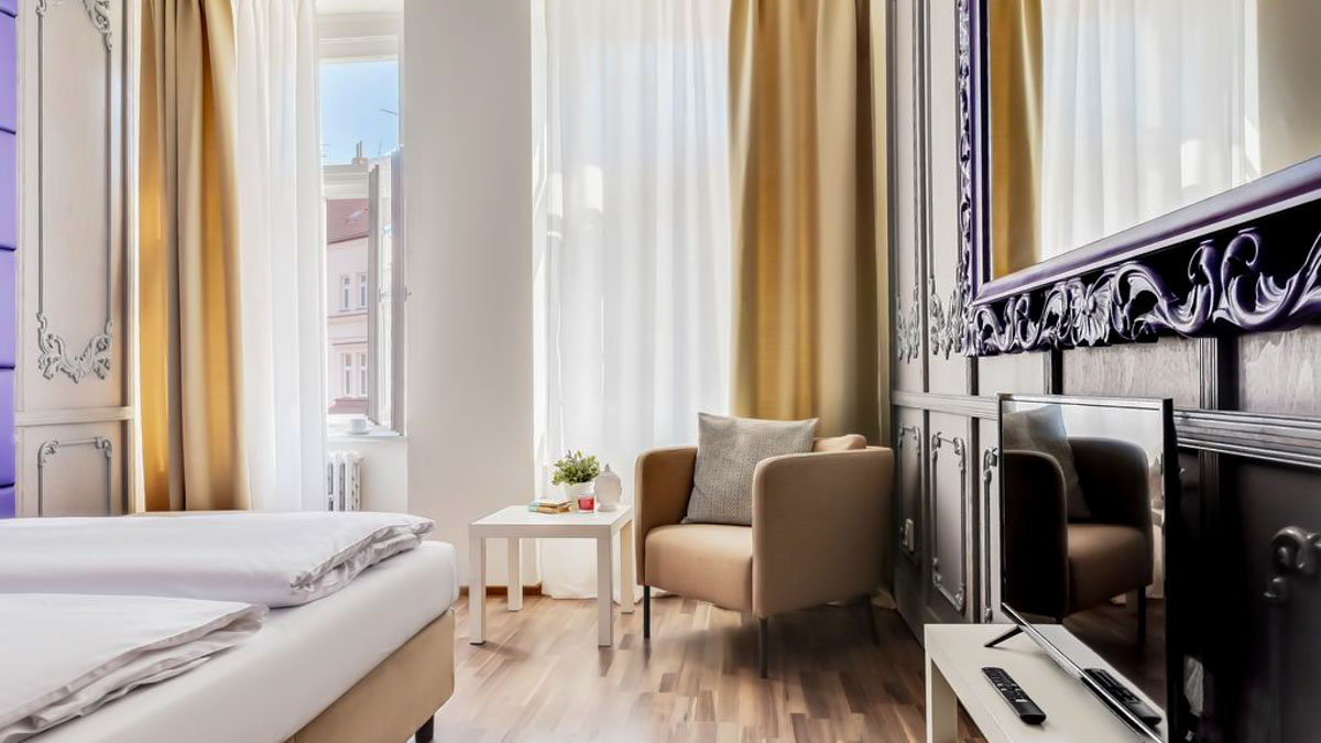 best 3 star hotels in Prague