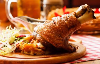where to eat pork knuckle in Prague