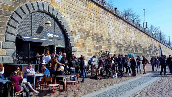 beer gardens in Prague Bajkazyl
