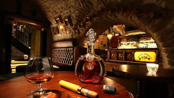 best speakeasy bars in Prague Black Angel's Bar