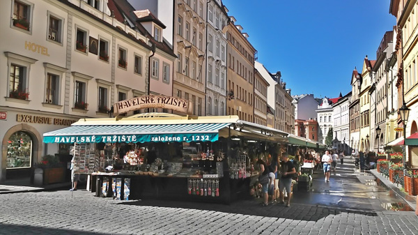 Prague markets Havelsky Market