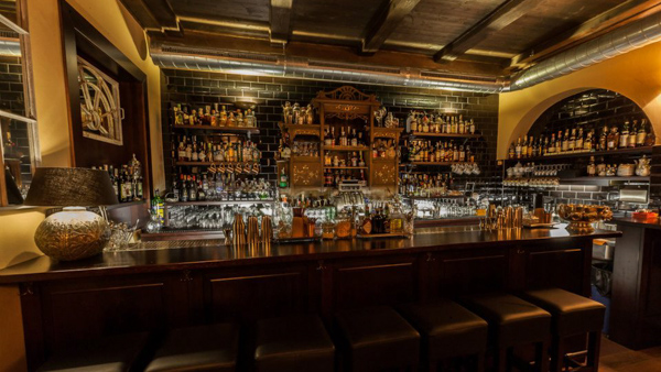 best speakeasy bars in Prague Hemingway bar