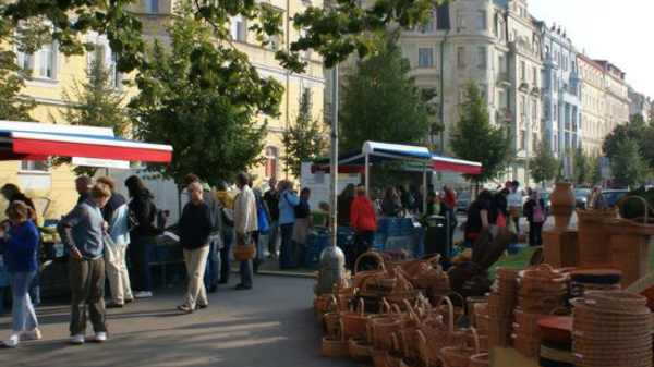 Prague farmers markets Jirak farmers market