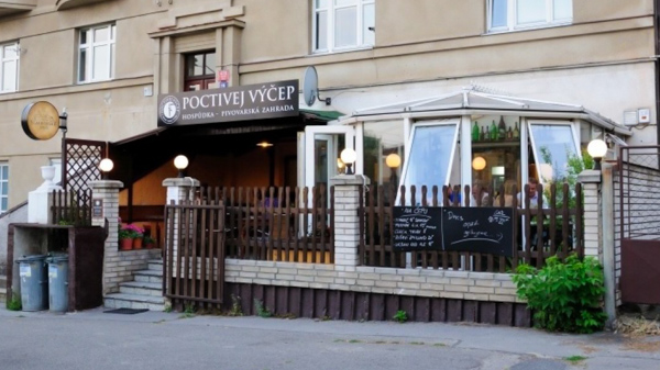 Best craft beer in Prague Poctivej Výčep