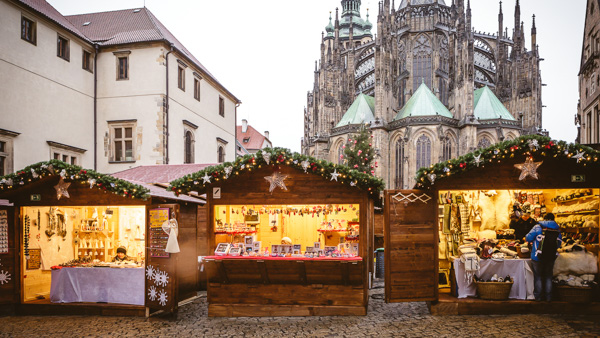 Prague markets Prague Castle Christmas Market