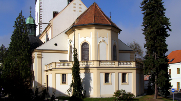 Trebic Church of St. Martin