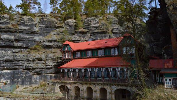 Bohemian Switzerland Falcon's Nest Castle