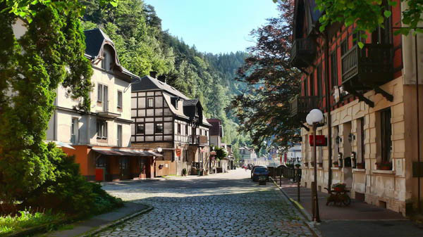 Bohemian Switzerland hotels and apartments