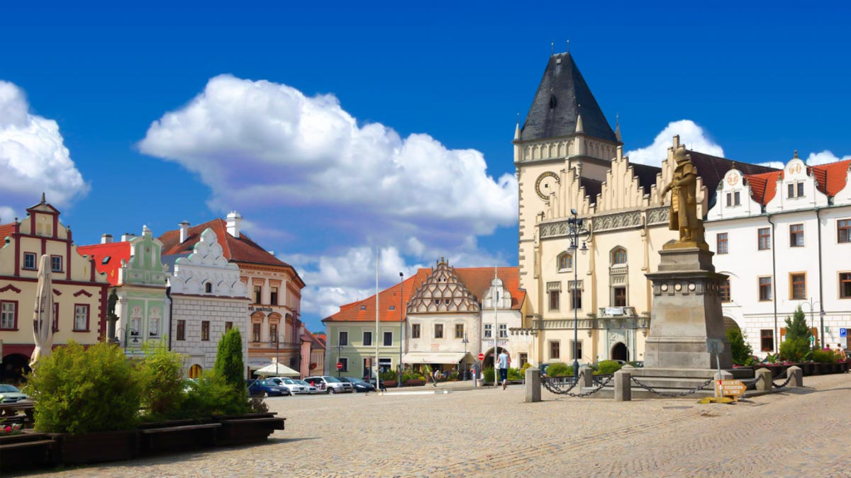 Tabor main square